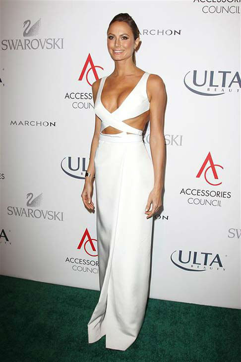 "<div class=""meta ""><span class=""caption-text "">Stacy Keibler appears at 17th annual Accessories Council Excellence Awards in New York City on Nov. 4, 2013.  (Kristina Bumphrey / startraksphoto.com)</span></div>"