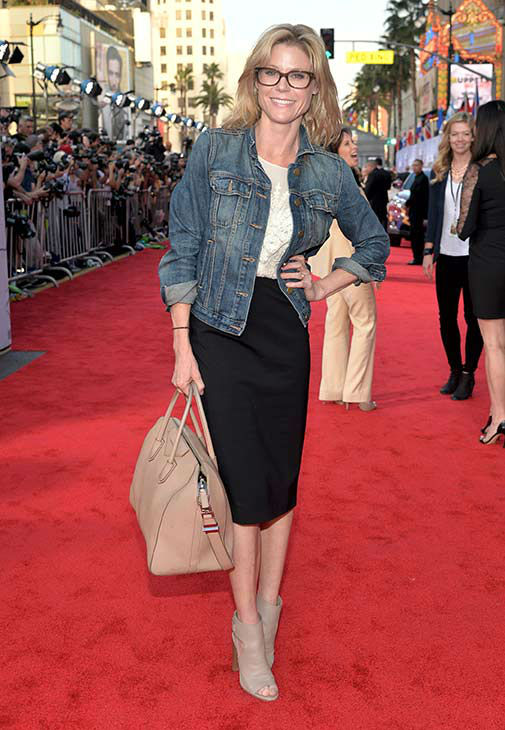 Julie Bowen arrives at the world premiere of Disney&#39;s &#39;Muppets Most Wanted&#39; at the El Capitan Theatre on March 11, 2014 in Hollywood, California. <span class=meta>(Alberto E. Rodriguez&#47;Getty Images for Disney)</span>