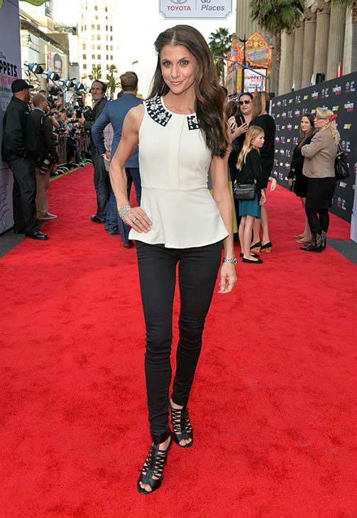 "<div class=""meta image-caption""><div class=""origin-logo origin-image ""><span></span></div><span class=""caption-text"">TV personality Samantha Harris arrives at the world premiere of Disney's 'Muppets Most Wanted' at the El Capitan Theatre on March 11, 2014 in Hollywood, California.  (Alberto E. Rodriguez/Getty Images for Disney)</span></div>"
