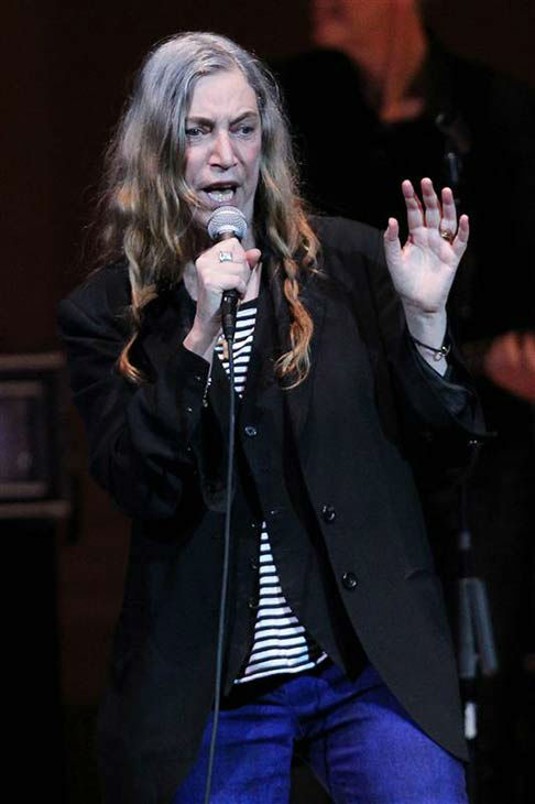 Patti Smith performs at the 24th annual Tibet House US Benefit Concert in New York City on March 11, 2014.  <span class=meta>(Dave Allocca &#47; startraksphoto.com)</span>