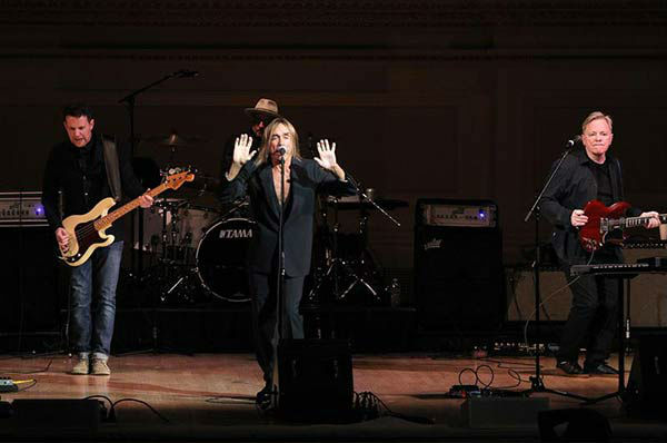 Iggy Pop and New Order perform at the 24th annual Tibet House US Benefit Concert in New York City on March 11, 2014.  <span class=meta>(Dave Allocca &#47; startraksphoto.com)</span>