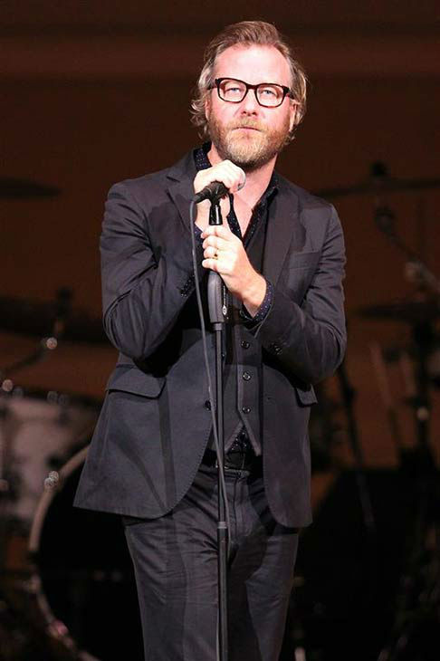 Matt Berninger of The National at the 24th annual Tibet House US Benefit Concert in New York City on March 11, 2014.  <span class=meta>(Dave Allocca &#47; startraksphoto.com)</span>