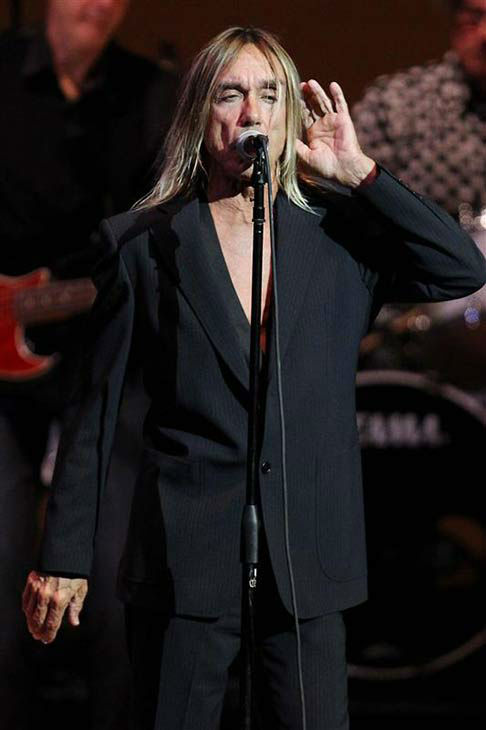 Iggy Pop performs at the 24th annual Tibet House US Benefit Concert in New York City on March 11, 2014.  <span class=meta>(Dave Allocca &#47; startraksphoto.com)</span>