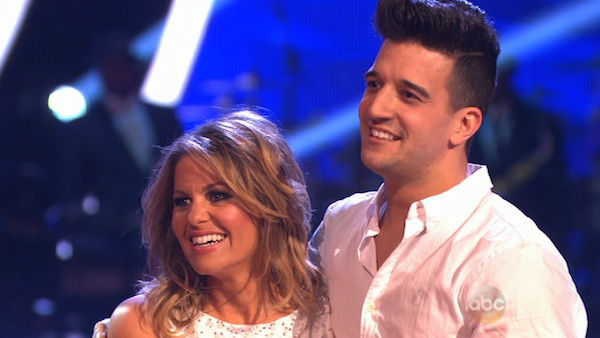 Candace Cameron Bure and Mark Ballas performed a Contemporary routine on week one of &#39;Dancing With The Stars&#39; on March 17, 2014. They received 25 out of 30 points from the judges. <span class=meta>(ABC Photo)</span>