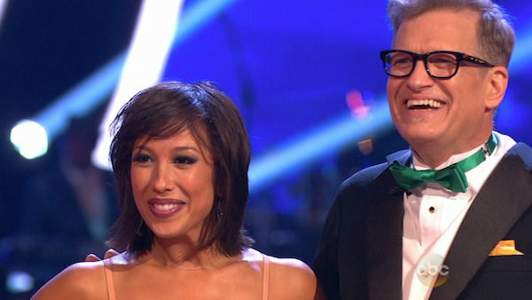 "<div class=""meta ""><span class=""caption-text "">Drew Carey and Cheryl Burke danced the Foxtrot on week one of 'Dancing With The Stars' on March 17, 2014. They received 21 out of 30 points from the judges. (ABC Photo)</span></div>"