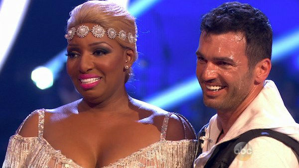 "<div class=""meta ""><span class=""caption-text "">NeNe Leakes and Tony Dovolani danced the Cha Cha Cha on week one of 'Dancing With The Stars' on March 17, 2014. They received 21 out of 30 points from the judges. (ABC Photo)</span></div>"