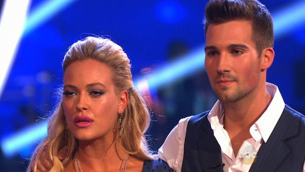 "<div class=""meta ""><span class=""caption-text "">James Maslow and Peta Murgatroyd danced the Foxtrot on week one of 'Dancing With The Stars' on March 17, 2014. They received 21 out of 30 points from the judges. (ABC Photo)</span></div>"
