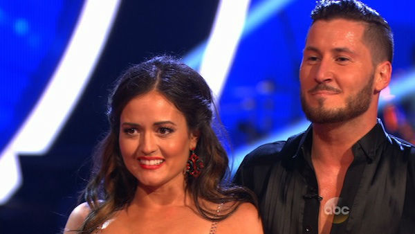 Danica McKellar and Valentin Chmerkovskiy danced the Foxtrot on week one of &#39;Dancing With The Stars&#39; on March 17, 2014. They received 24 out of 30 points from the judges. <span class=meta>(ABC Photo)</span>