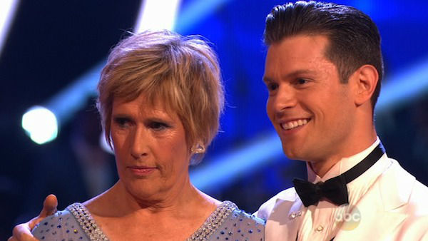 Diana Nyad and Henry Byalikov danced the Foxtrot on week one of &#39;Dancing With The Stars&#39; on March 17, 2014. They received 18 out of 30 points from the judges. <span class=meta>(ABC Photo)</span>