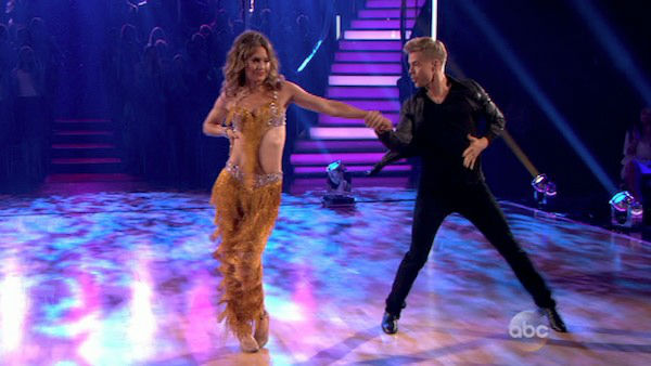 Amy Purdy and Derek Hough dance the Cha Cha Cha on week one of &#39;Dancing With The Stars&#39; on March 17, 2014. They received 24 out of 30 points from the judges. <span class=meta>(ABC Photo)</span>