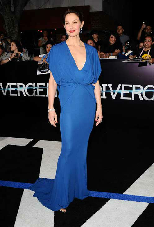 Ashley Judd appears at the premiere of &#39;Divergent&#39; at the Regency Bruin Theatre in Westwood, California on March 18, 2013. <span class=meta>(Sara De Boer &#47; startraksphoto.com)</span>
