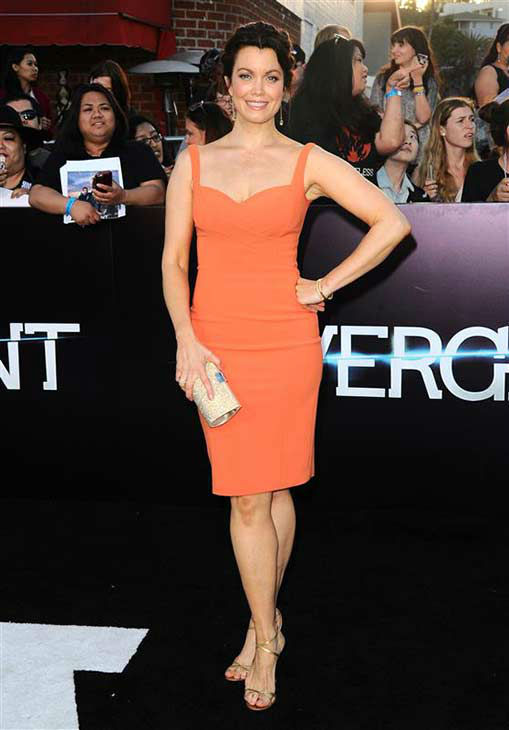 Bellamy Young of &#39;Scandal&#39; appears at the premiere of &#39;Divergent&#39; at the Regency Bruin Theatre in Westwood, California on March 18, 2013. <span class=meta>(Sara De Boer &#47; startraksphoto.com)</span>