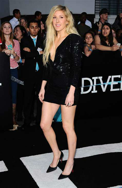 Ellie Goulding appears at the premiere of &#39;Divergent&#39; at the Regency Bruin Theatre in Westwood, California on March 18, 2013. <span class=meta>(Sara De Boer &#47; startraksphoto.com)</span>