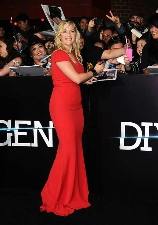 Kate Winslet appears at the premiere of &#39;Divergent&#39; at the Regency Bruin Theatre in Westwood, California on March 18, 2013. <span class=meta>(Sara De Boer &#47; startraksphoto.com)</span>