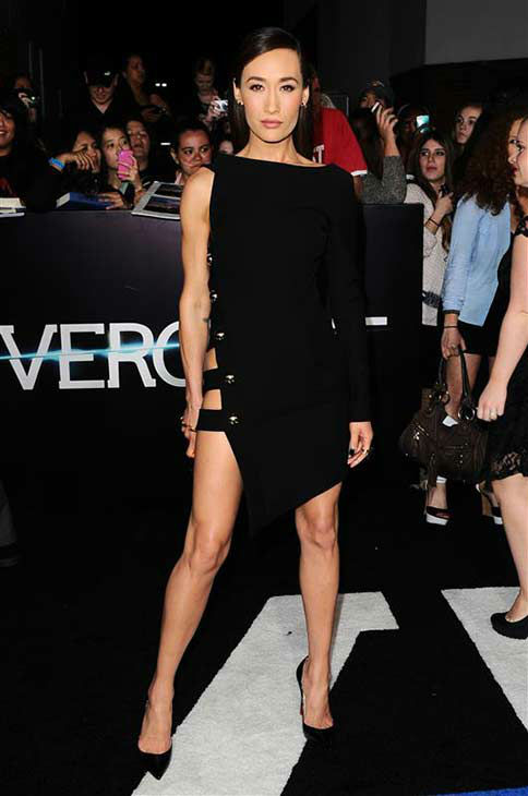 Maggie Q of &#39;Nikita&#39; appears at the premiere of &#39;Divergent&#39; at the Regency Bruin Theatre in Westwood, California on March 18, 2013. <span class=meta>(Sara De Boer &#47; startraksphoto.com)</span>