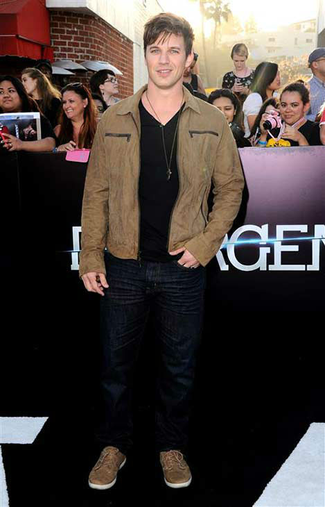 Matt Lanter of &#39;90210&#39; appears at the premiere of &#39;Divergent&#39; at the Regency Bruin Theatre in Westwood, California on March 18, 2013. <span class=meta>(Sara De Boer &#47; startraksphoto.com)</span>