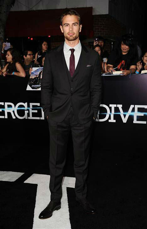 Theo James appears at the premiere of &#39;Divergent&#39; at the Regency Bruin Theatre in Westwood, California on March 18, 2013. <span class=meta>(Sara De Boer &#47; startraksphoto.com)</span>