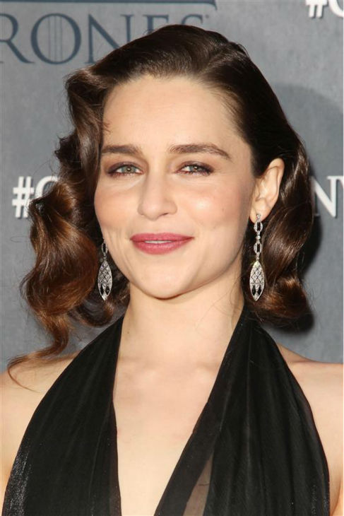 "<div class=""meta ""><span class=""caption-text "">'Game of Thrones' star Emilia Clarke (Daenerys Targaryen) appears at the season 4 premiere of the hit HBO series in New York on March 18, 2014. The show returns on April 6. (Kristina Bumphrey / Startraksphoto.com)</span></div>"