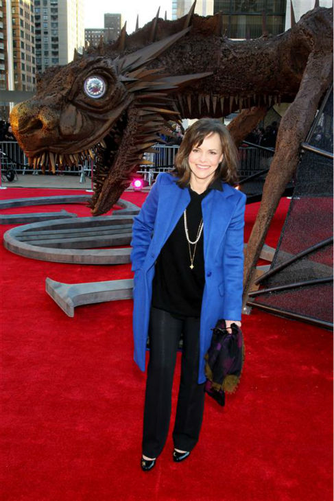 Sally Field appears with a friend at the &#39;Game of Thrones&#39; season 4 premiere in New York on March 18, 2014. The show returns on April 6. <span class=meta>(Marion Curtis &#47; Startraksphoto.com)</span>