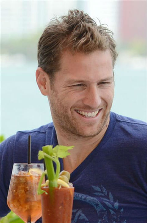 "<div class=""meta ""><span class=""caption-text "">Juan Pablo Galavis, star of ABC's 'The Bachelor' season 18, is seen having lunch with winner Nikki Ferrell and Jim and Elizabeth Carroll, stars of the WE tv reality show 'Marriage Boot Camp,' at Rusty Pelican Miami on March 18, 2014. (Seth Browarnik / Startraksphoto.com)</span></div>"
