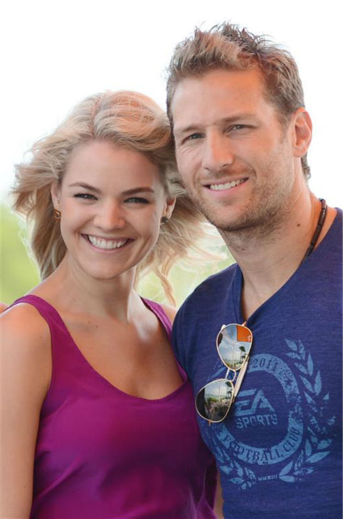 "<div class=""meta ""><span class=""caption-text "">Juan Pablo Galavis, star of ABC's 'The Bachelor' season 18, and winner Nikki Ferrell, are seen at a lunch with Jim and Elizabeth Carroll, stars of the WE tv reality show 'Marriage Boot Camp,' (not pictured) at Rusty Pelican Miami on March 18, 2014. (Seth Browarnik / Startraksphoto.com)</span></div>"