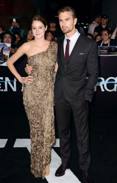 "<div class=""meta ""><span class=""caption-text "">Shailene Woodley (Tris) and Theo James (Four) appear at the premiere of 'Divergent' in Los Angeles on March 18, 2014. (Lionel Hahn / AbacaUSA / Startraksphoto.com)</span></div>"