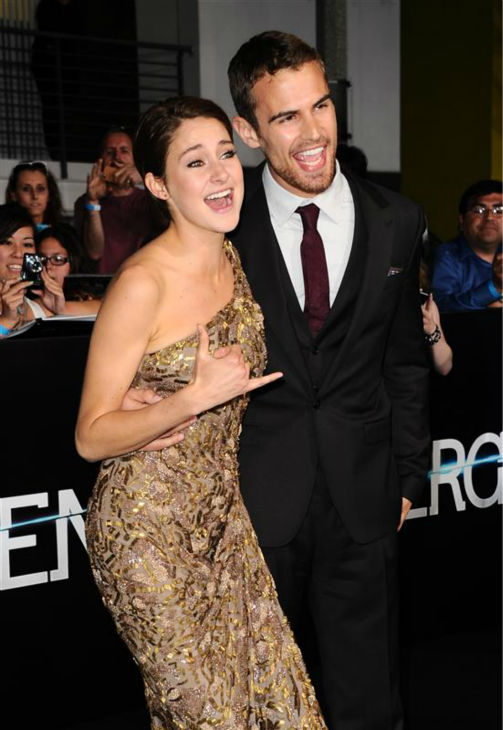 "<div class=""meta ""><span class=""caption-text "">Shailene Woodley (Tris) and Theo James (Four) appear at the premiere of 'Divergent' in Los Angeles on March 18, 2014. (Sara De Boer / Startraksphoto.com)</span></div>"