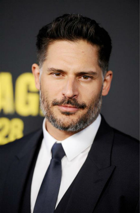 Joe Manganiello appears at the premiere of 'Sabotage' in Los Angeles on March 19, 2014.