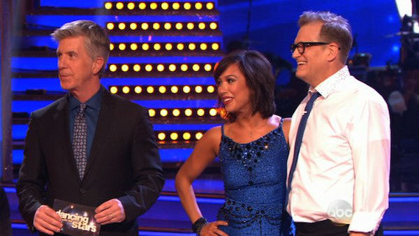 "<div class=""meta ""><span class=""caption-text "">Drew Carey and Cheryl Burke danced the Jive on week two of 'Dancing With The Stars' on March 24, 2014. They received 21 out of 30 points from the judges. (ABC Photo)</span></div>"