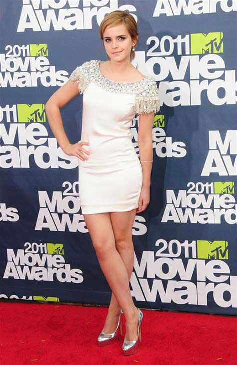 Emma Watson appears at the 2011 MTV Movie Awards on June 5, 2011. <span class=meta>(Kyle Rover&#47;startraksphoto.com)</span>