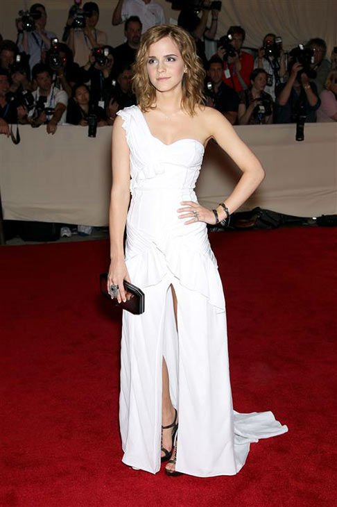 Emma Watson appears at the Metropolitan Museum Of Art&#39;s 2010 Costume Institute Gala on May 3, 2010. <span class=meta>(Marion Curtis&#47;Startraksphoto.com)</span>