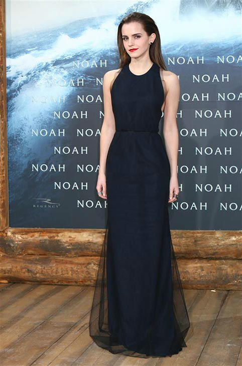 Emma Watson appears at the Berlin premiere of &#39;Noah&#39; on March 13, 2014.  <span class=meta>(Abaca&#47;startraksphoto.com)</span>