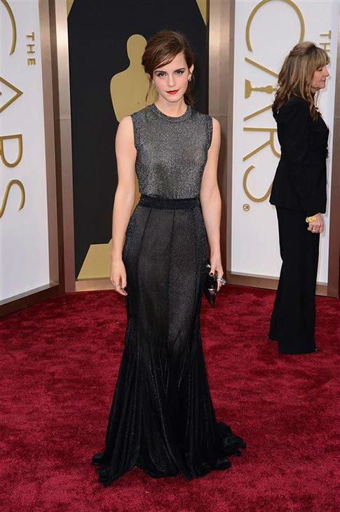 Emma Watson appears at the Oscars on March 2, 2014. <span class=meta>(Lionel Hahn&#47;AbacaUSA&#47;startraksphoto.com)</span>