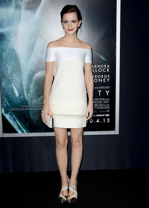 Emma Watson appears at the New York premiere of &#39;Gravity&#39; on Oct. 1, 2013.  <span class=meta>(Humberto Carreno&#47;startraksphoto.com)</span>