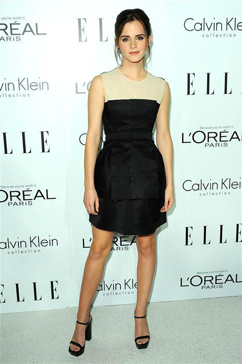 Emma Watson appears at the 19th Annual ELLE Women In Hollywood Celebration in Los Angeles on Oct. 15, 2012.  <span class=meta>(Michael Williams&#47;startraksphoto.com)</span>