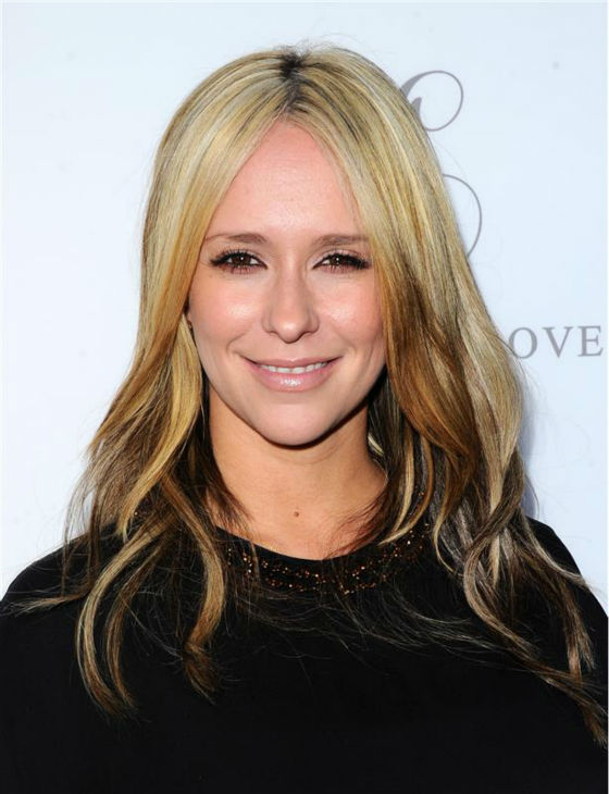 Jennifer Love Hewitt, debuting a new, blonde hairstyle, appears at A Pea In The Pod maternity wear&#39;s celebration of the launch of her maternity fashion collection, L By Jennifer Love Hewitt, in Beverly Hills, California on April 1, 2014. Hewitt and her husband welcomed their first child, a baby girl, in November 2013. <span class=meta>(Sara De Boer &#47; Startraksphoto.com)</span>