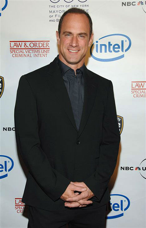 "<div class=""meta ""><span class=""caption-text "">Christopher Meloni appears at Esquire Magazine honors 'Law and Order' creator and Emmy-winning Producer Dick Wolf on Oct. 24, 2007. (Paul Hawthorne/Startraksphoto.com)</span></div>"