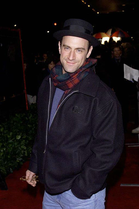 "<div class=""meta ""><span class=""caption-text "">Christopher Meloni appears at the premiere of 'Legend of Bagger Vance' on Sept. 16, 2000. (startraksphoto.com)</span></div>"