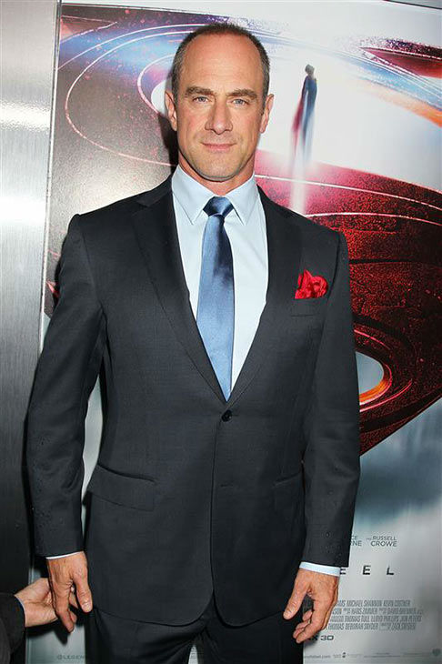 Christopher Meloni appears at the world premiere of &#39;Man of Steel&#39; on in New York City on June 10, 2013. <span class=meta>(Dave Allocca&#47;Startraksphoto.com)</span>