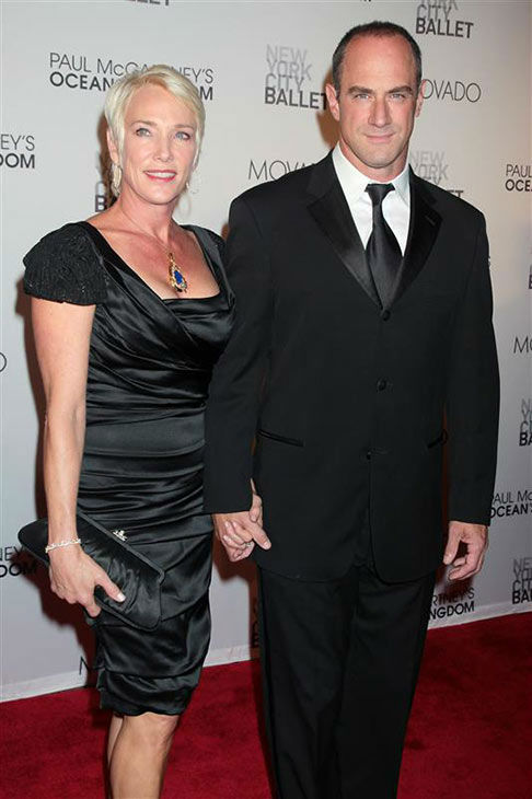 "<div class=""meta ""><span class=""caption-text "">Christopher Meloni and his wife Sherman Williams appear at the premiere of Paul McCartney's Ocean's Kingdom on Sept. 22, 2011. (Dave Allocca/Startraksphoto.com)</span></div>"