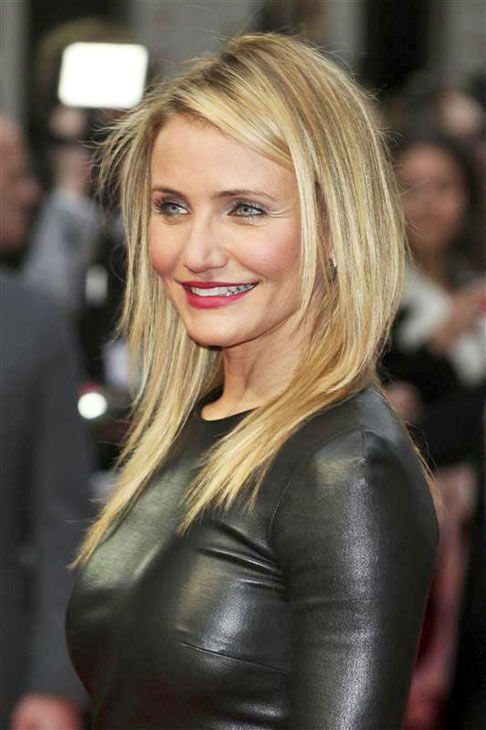 Cameron Diaz appears at the UK Gala screening of &#39;The Other Woman&#39; in London on April 2, 2014. <span class=meta>(Future Image&#47;startraksphoto.com)</span>