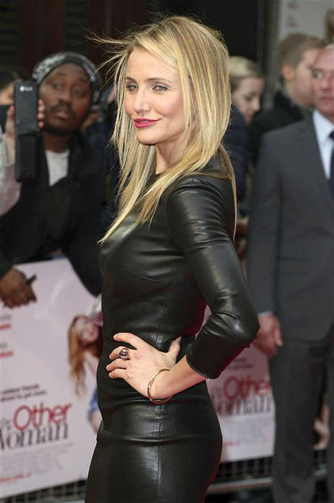 "<div class=""meta image-caption""><div class=""origin-logo origin-image ""><span></span></div><span class=""caption-text"">Cameron Diaz appears at the UK Gala screening of 'The Other Woman' in London on April 2, 2014. (Future Image/startraksphoto.com)</span></div>"