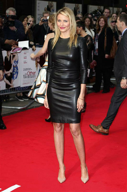 "<div class=""meta ""><span class=""caption-text "">Cameron Diaz appears at the UK Gala screening of 'The Other Woman' in London on April 2, 2014. (Future Image/startraksphoto.com)</span></div>"