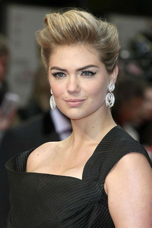 Kate Upton appears at the UK Gala screening of &#39;The Other Woman&#39; in London on April 2, 2014. <span class=meta>(Future Image&#47;startraksphoto.com)</span>