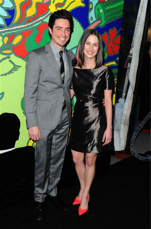 Ben Feldman &#40;Michael Ginsberg&#41; and wife and actress Michelle Mulitz appear at the season 7 premiere of AMC&#39;s &#39;Mad Men&#39; in Hollywood, California on April 2, 2014. <span class=meta>(Daniel Robertson &#47; Startraksphoto.com)</span>