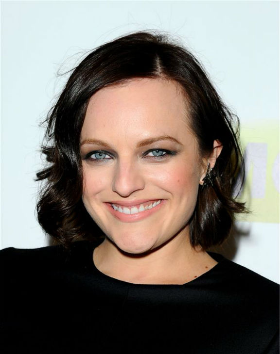 Elisabeth Moss &#40;Peggy Olson&#41; appears at the season 7 premiere of AMC&#39;s &#39;Mad Men&#39; in Hollywood, California on April 2, 2014. <span class=meta>(Daniel Robertson &#47; Startraksphoto.com)</span>