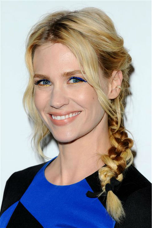 January Jones &#40;Betty Francis, formerly Draper&#41; appears at the season 7 premiere of AMC&#39;s &#39;Mad Men&#39; in Hollywood, California on April 2, 2014. <span class=meta>(Daniel Robertson &#47; Startraksphoto.com)</span>