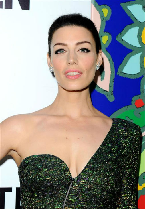 Jessica Pare &#40;Megan Draper&#41; appears at the season 7 premiere of AMC&#39;s &#39;Mad Men&#39; in Hollywood, California on April 2, 2014. <span class=meta>(Daniel Robertson &#47; Startraksphoto.com)</span>