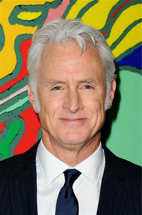 John Slattery &#40;Roger Sterling&#41; appears at the season 7 premiere of AMC&#39;s &#39;Mad Men&#39; in Hollywood, California on April 2, 2014. <span class=meta>(Daniel Robertson &#47; Startraksphoto.com)</span>