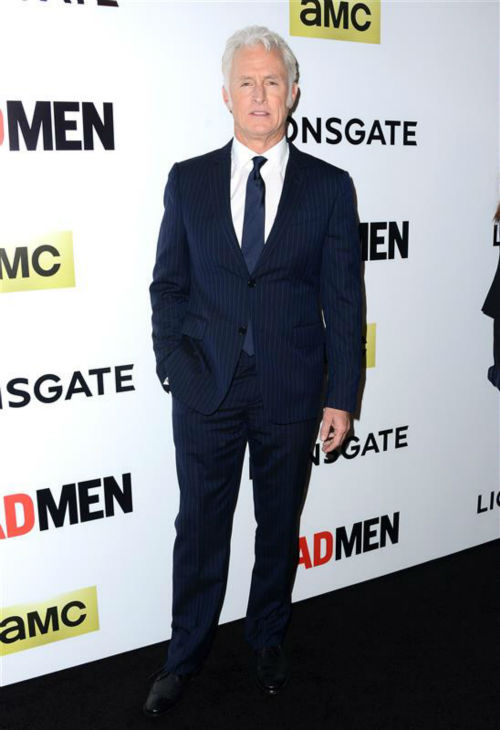 "<div class=""meta image-caption""><div class=""origin-logo origin-image ""><span></span></div><span class=""caption-text"">John Slattery (Roger Sterling) appears at the season 7 premiere of AMC's 'Mad Men' in Hollywood, California on April 2, 2014. (Lionel Hahn / AbacaUSA / Startraksphoto.com)</span></div>"